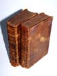 click to view detailed description of Two Leather bound volumes of the