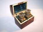 click to view detailed description of A 19th century Tortoiseshell Scent Bottle Casket with Domed Top circa 1860