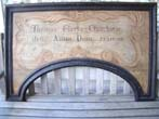click to view detailed description of An Early 18th Century English Architecural Door Arch Dated 1720