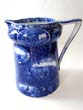 click to view detailed description of An English pottery pitcher commemorating the