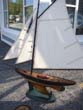 click to view detailed description of An attractive vintage Pond Boat