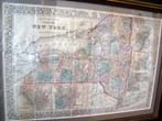 click to view detailed description of Mitchells Map of New York published in 1877