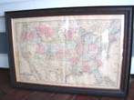 click to view detailed description of Mitchells Map of the United States published in 1884.