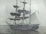 click to view detailed description of A rare original photo of the New Bedford Whale ship