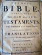 click to view detailed description of An 18th century HOLY BIBLE written in English and published in Amsterdam in 1730
