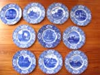 click to view detailed description of A fine set of 10 George Washington Bicentenary Commemorative Plates made in 1932 by Crown Ducal