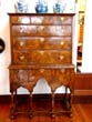 click to view detailed description of A William and Mary Walnut Chest on Stand circa 1690