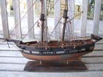 click to view detailed description of A model of the Privateer ALERT of Salem built in 1798