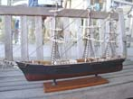 click to view detailed description of A model of the Clipper Ship