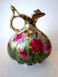 click to view detailed description of A beautiful hand painted ewer by Nippon circa 1890
