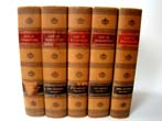 click to view detailed description of The Life of Washington by John Marshall, 5 vols., Fredericksburg Edition, published in 1925