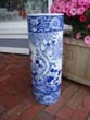 click to view detailed description of An extremely attractive vintage Chinese umbrella stand