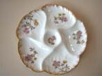 click to view detailed description of A fine early Limoges bone china oyster plate by Charles Havilland circa 1882