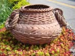 click to view detailed description of A wonderful late 19th century woven basket