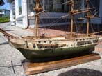 click to view detailed description of An early 20th century model of the Royal George II, built in 1788