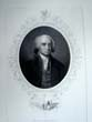 click to view detailed description of A 19th century engraving of President James Madison published in 1860