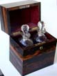 click to view detailed description of  A fine English Victorian Coromandelwood Decanter box circa 1880