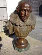 click to view detailed description of A fine bronzed bust of William Shakespeare by Pablo Rigual (1863-1917)