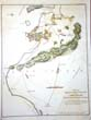 click to view detailed description of A Revolutionary War map of Long Island printed in 1794 showing the British and American positions prior to the Battle for Brooklyn in August 1776