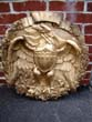 click to view detailed description of A cast plaster Eagle plaque, probably 19th century