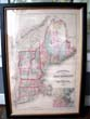 click to view detailed description of The Map of New England by Wallis & Gray published in 1871
