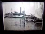 click to view detailed description of A late 19th century Photograph of the Paddle Wheeler