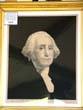 click to view detailed description of A wonderful 19th century engraving of George Washington with presentation inscription dated 1861