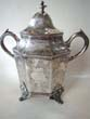 click to view detailed description of An important silver cup presented in 1846 to the Capt. of the Steamship ALABAMA by the Officers & Soldiers of the 5th Regiment Louisiana Volunteers who were returning home after fighting in the Mexican War.