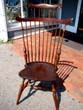 click to view detailed description of A fine WALLACE NUTTING Comb-Back Windsor Chair, early 20th century