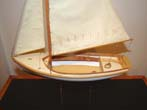 click to view detailed description of An exquisite hand crafted scale model of a circa 1900 HERRESHOFF 12 1/2