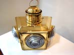 click to view detailed description of A Wonderful late 19th or early 20th century Combination Port and Starboard Running Light