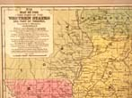 click to view detailed description of Map of the Western States and Part of Virginia published by Augustus Mitchell in 1839