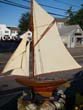 click to view detailed description of A nice plank-on-frame hand made 1920s style pond boat