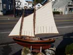 click to view detailed description of An attractive plank -on-frame Victorian style two-masted schooner