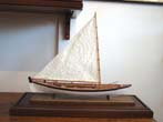 click to view detailed description of A 20th century scratch built Scale model of a 19th century Nantucket Whale Boat