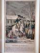 click to view detailed description of A fine late 18th century hand colored engraving of Washington's Victory at Trenton 26 Dec.1776