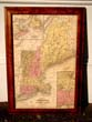 click to view detailed description of A Map of New England published by Augustus Mitchell in 1850
