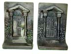 click to view detailed description of A Pair of Bradley & Hubbard Antique Bookends circa 1910