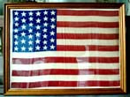 click to view detailed description of A Fine and Rare 39 Star Flag circa 1889, now elegantly framed