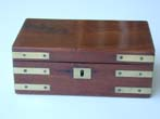 click to view detailed description of A 19th Century Campaign Style Instrument Box Circa 1830