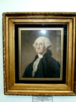 click to view detailed description of Print of George Washington circa 1820 from the Original by Gilbert Stuart