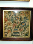click to view detailed description of An English Embroidered Panel circa 1720-1740