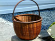 click to view detailed description of Fine Early 20th century Nantucket Basket Attributed to William Appleton c.1900