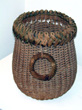 click to view detailed description of Outstanding 19th Century Nantucket Eel Basket