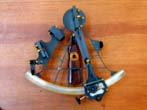 click to view detailed description of Fine Cased Mariner's Sextant circa 1928