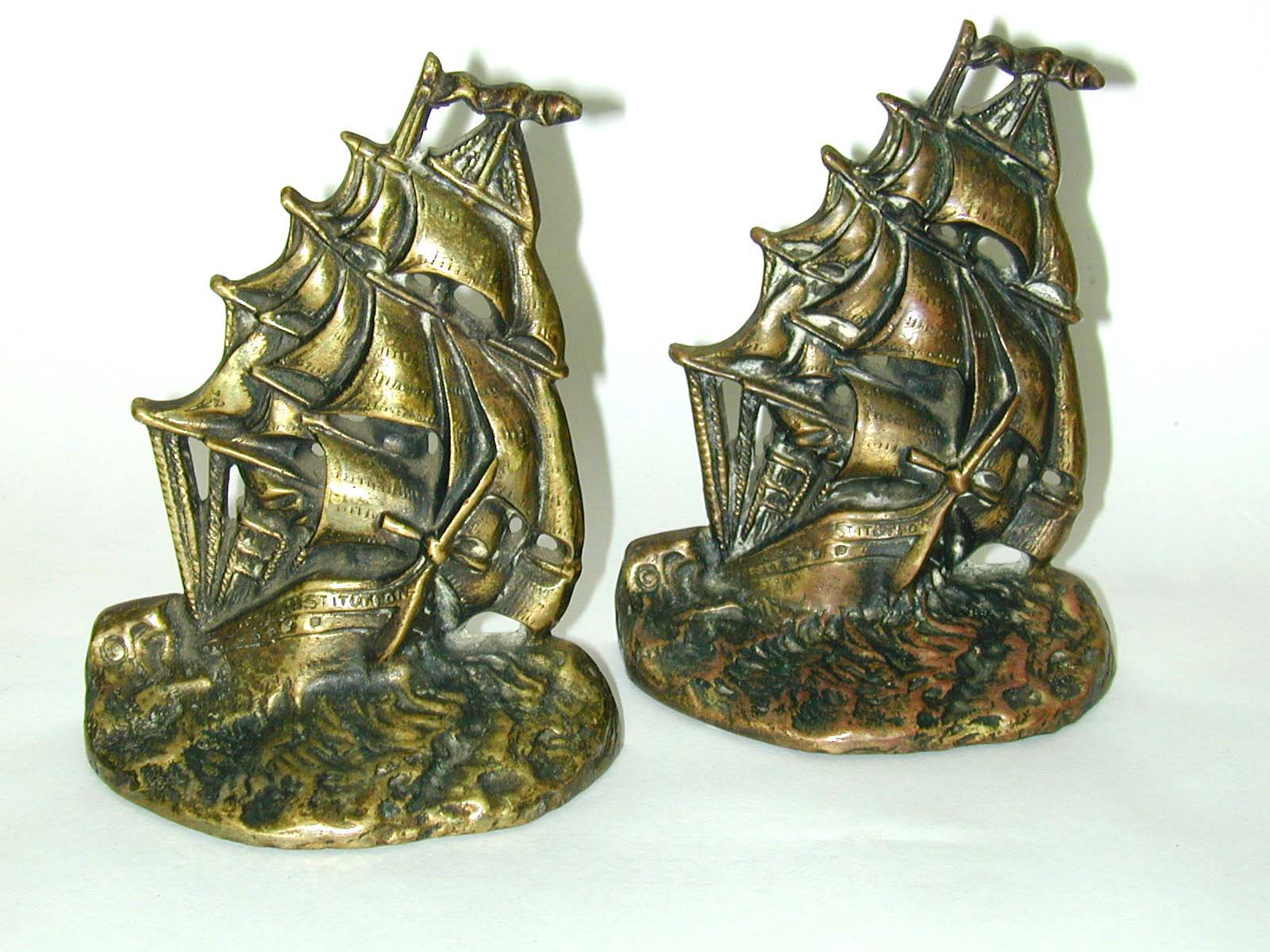 click to view detailed description of Pair of Antique