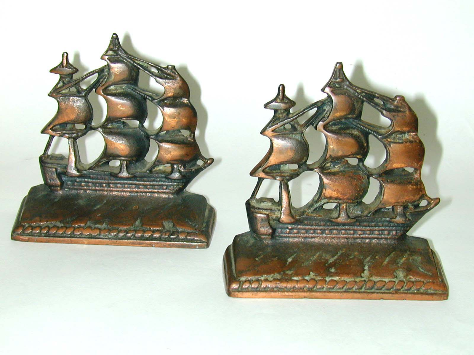 click to view detailed description of Antique Pair of