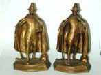 click to view detailed description of An Antique Pair of Bronzed