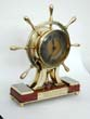 click to view detailed description of A 19th century New Haven, CT., Yacht Club Presentation Ships Clock Dated 1886.