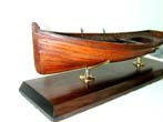 click to view detailed description of An Early Builders Model of a Whitehall Rowing Boat circa 1880